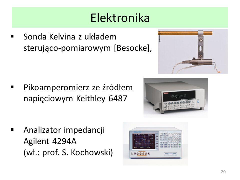 Elektronika Sonda Kelvina z układem sterująco-pomiarowym [Besocke],